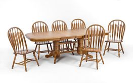 Lamin 42 Inch Table with Four Chairs