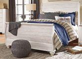 Willowton Queen Sleigh Bed Set