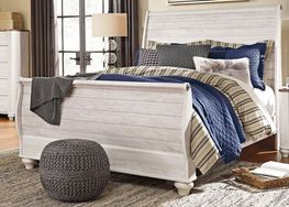 Willowton Queen Sleigh Bed Set