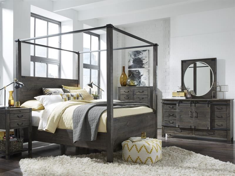 Picture of Abington Queen Poster Bed Set