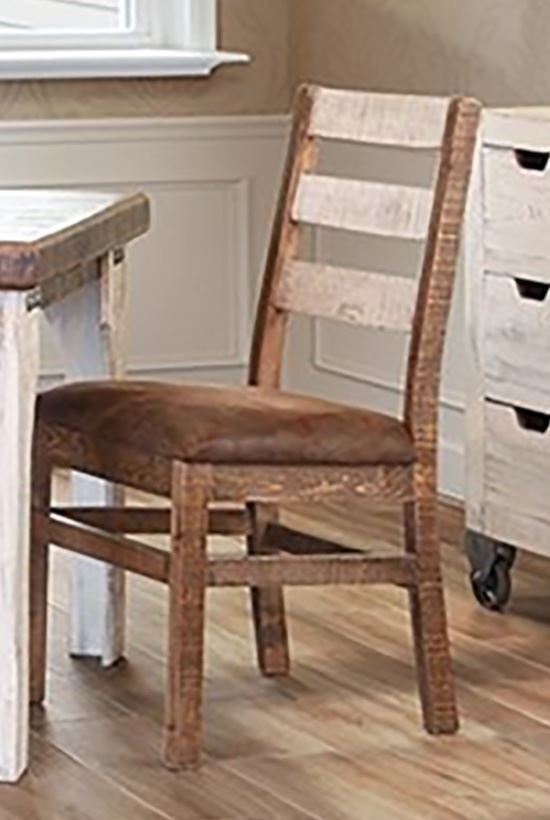Picture of Antique White Dining Chair
