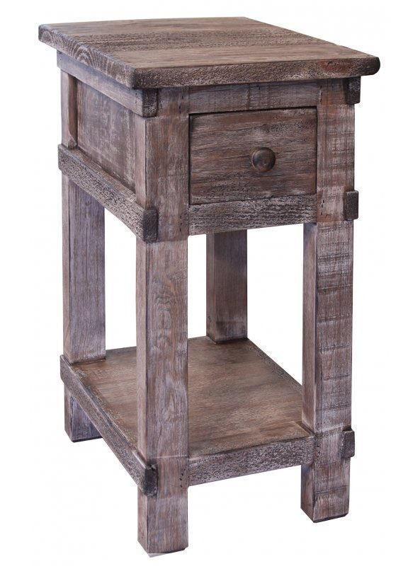 Picture of San Angelo Grey Chairside Table