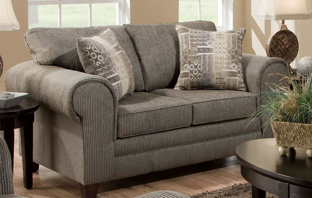 Picture of Dickens Hickory Loveseat
