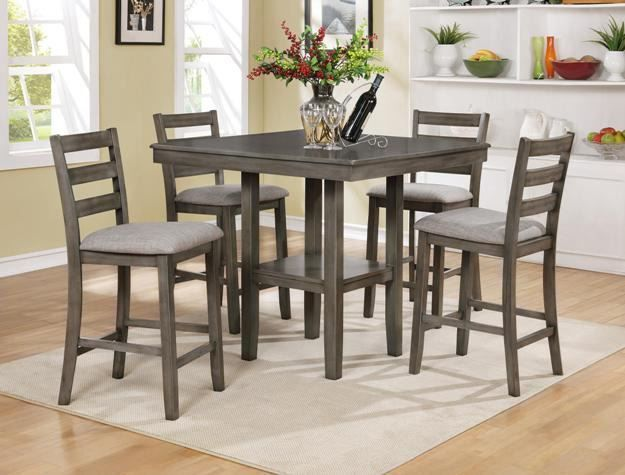 Picture of Tahoe Counter Table with Four Stools