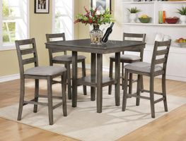 Tahoe Counter Table with Four Stools