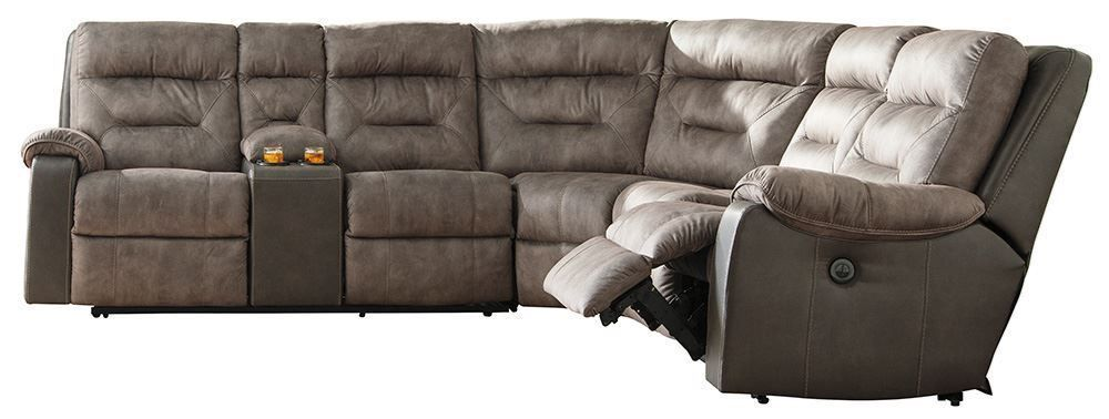 Picture of Hacklesbury Brown Four Piece Sectional