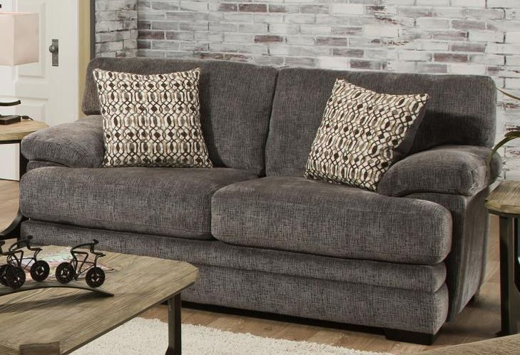 Picture of Beaverton Grey Loveseat