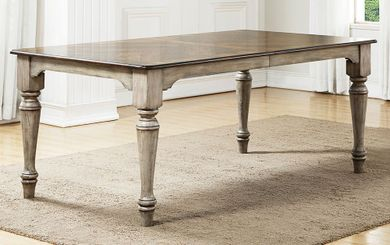 Plymouth Rectangular Table and Four Upholstered Side Chairs