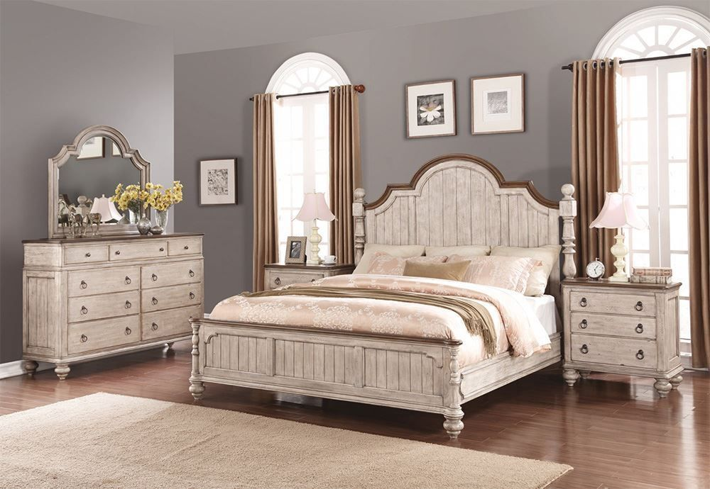 Picture of Plymouth Queen Poster Bed Set