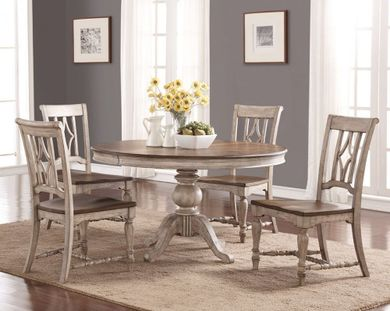 Plymouth Round Table with Four Side Chairs
