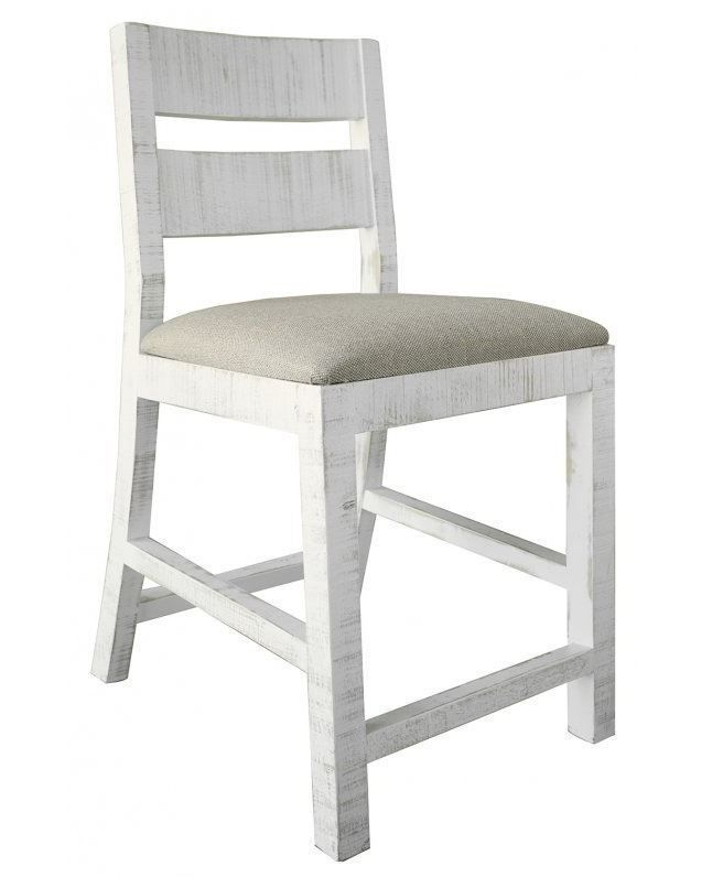 Picture of Pueblo White 24 inch Barstool