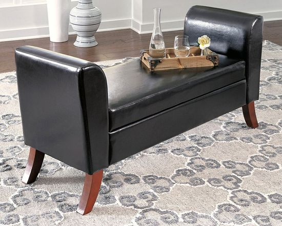 Picture of 109 Upholstered Storage Bench