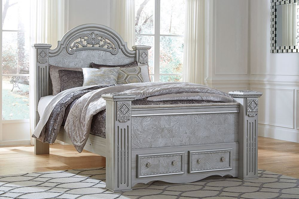 Picture of Zolena Queen Poster Bed Set