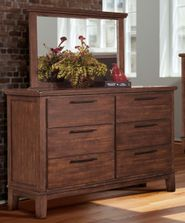 Cagney Dresser and Mirror Set