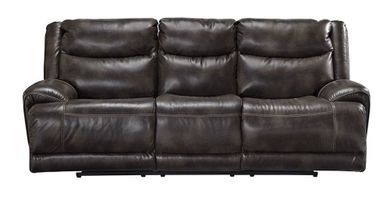 Brinlack Gray Power Sofa