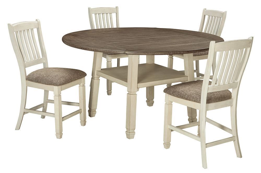 Picture of Bolanburg Round Center Table with Four Stools