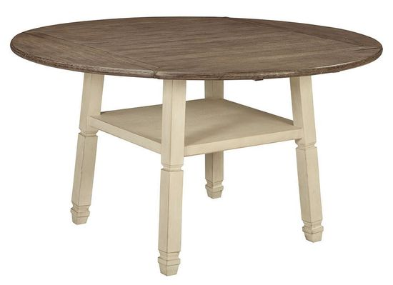 Picture of Bolanburg Round Leaf Counter Table