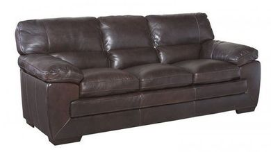 Longhorn Black Oak Sofa