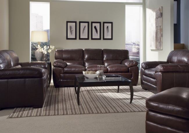 Picture of Longhorn Black Oak Sofa