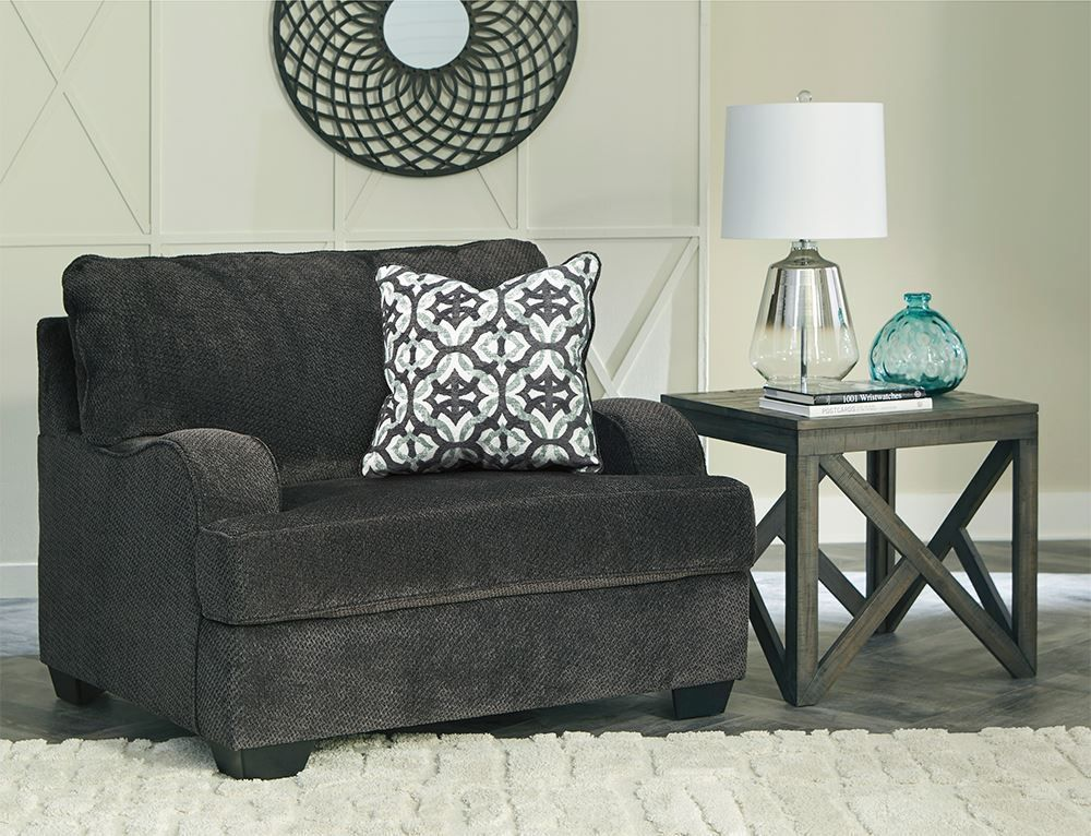 Picture of Charenton Charcoal Chair and a Half