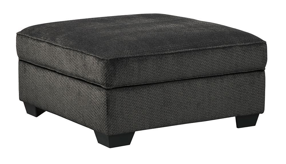 Picture of Charenton Charcoal Storage Ottoman