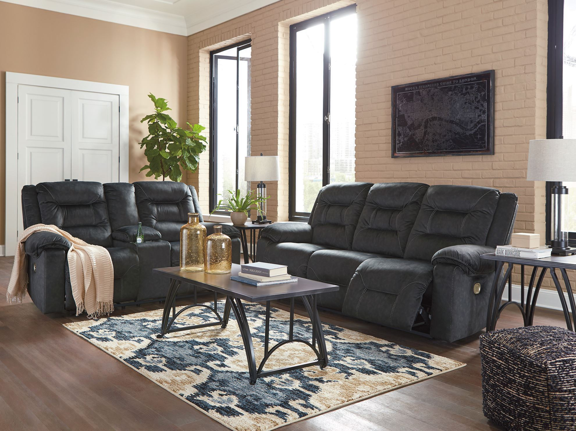 Picture of Waldheim Gray Power Sofa