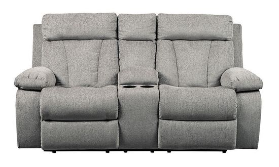 Picture of Mitchiner Fog Reclining Console Loveseat