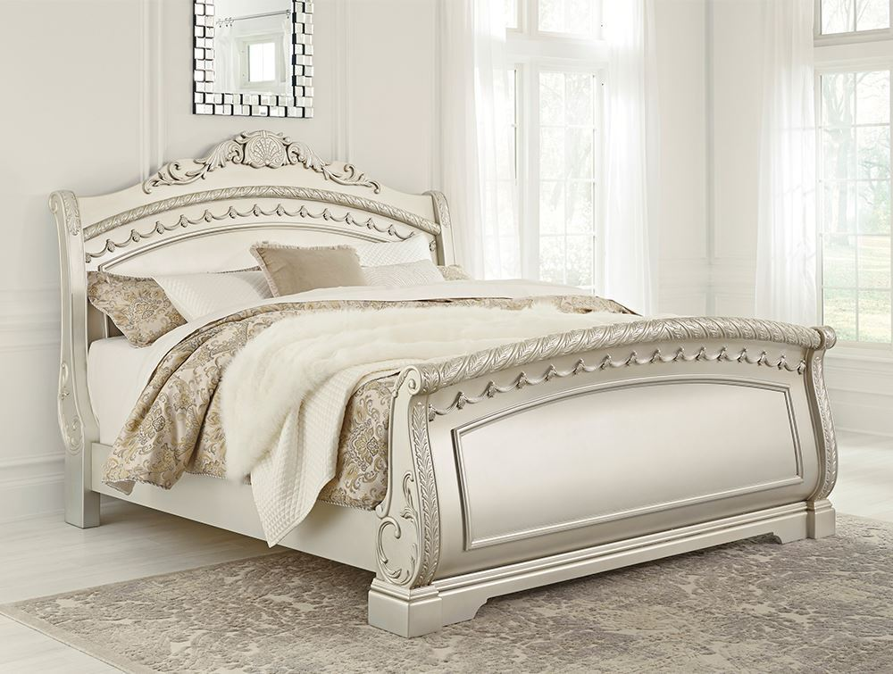 Picture of Cassimore King Sleigh Bed Set