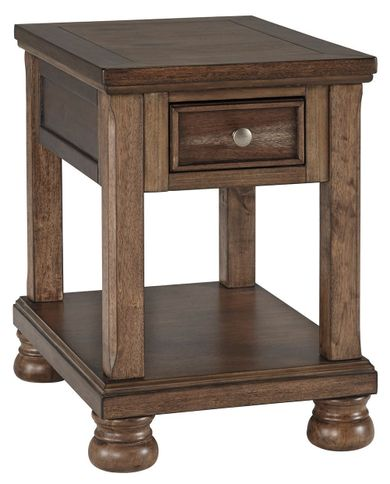 Flynnter Chairside Table