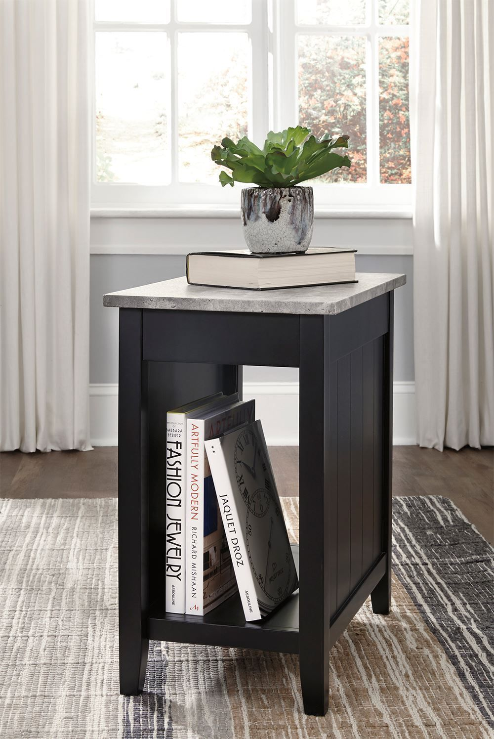 Picture of Diamenton Black Chairside End Table