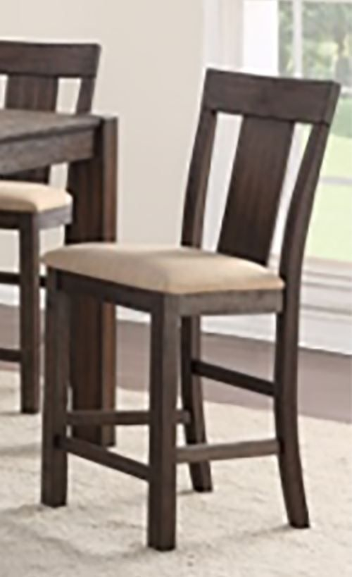 Picture of Andie Plank Back Counter Stool