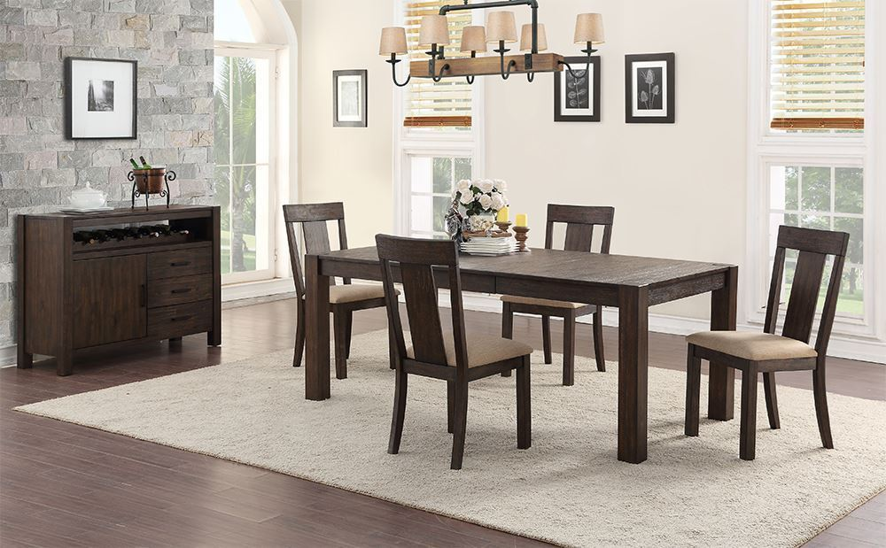 Picture of Andie Dining Table with Four Chairs