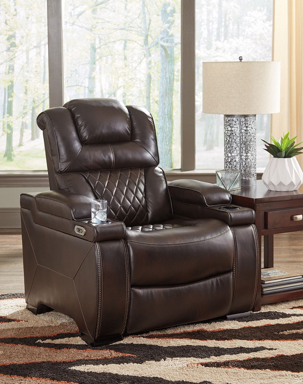 Picture of Warnerton Chocolate Power Recliner