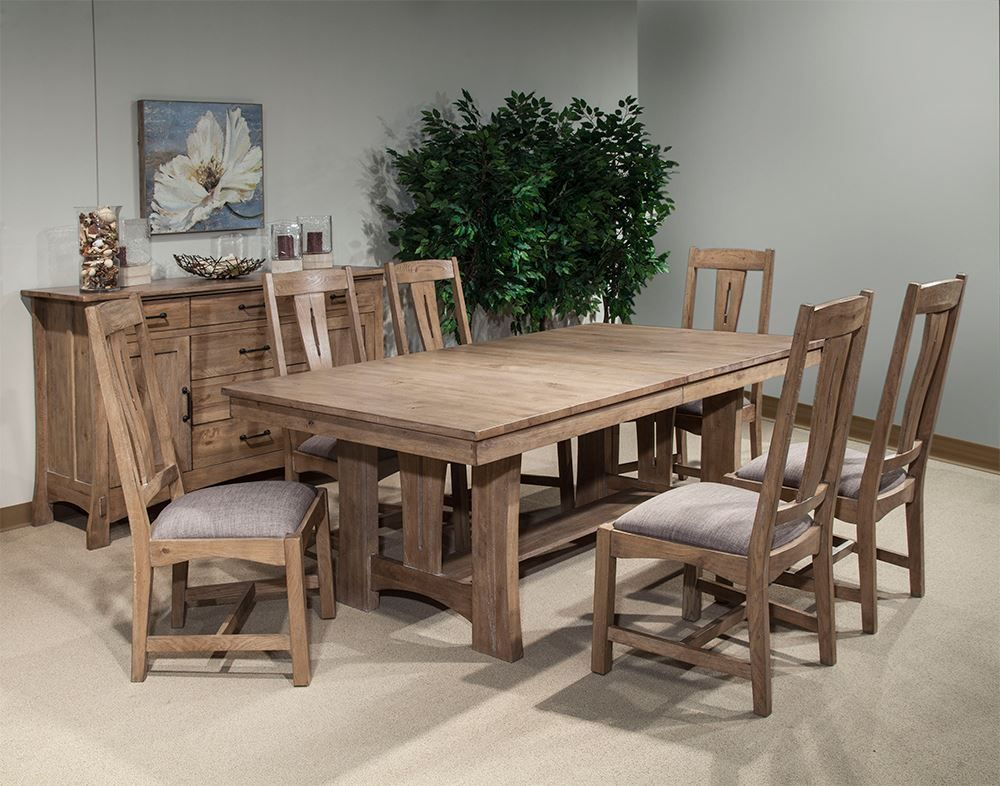 Picture of West End Bungalow Table with Four Chairs