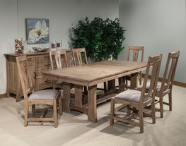 West End Bungalow Table with Four Chairs