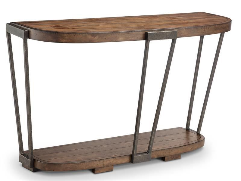 Picture of Yukon Demilune Console Table