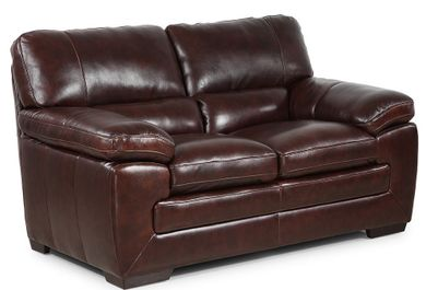 Longhorn Black Oak Loveseat