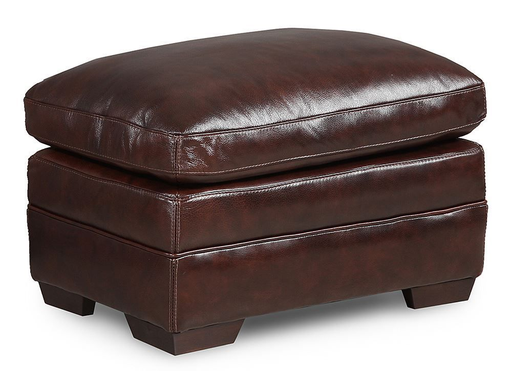 Picture of Longhorn Black Oak Ottoman