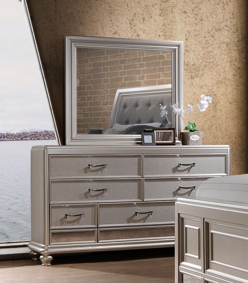 Picture of Venetia Dresser and Mirror Set