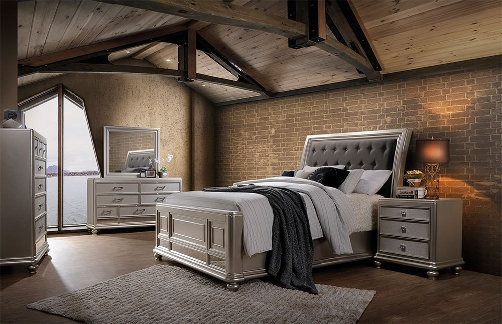 Picture of Venetia King Upholstered Bedroom Set