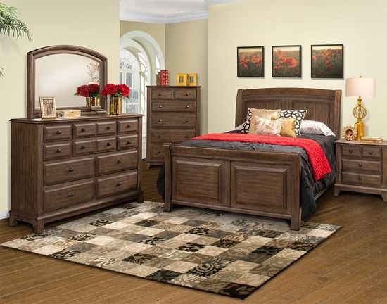 Picture of Hemingway Queen Bedroom Set