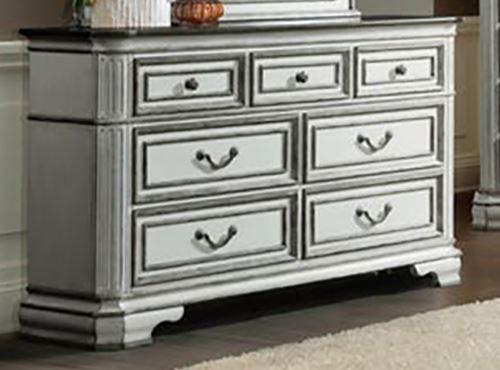 Picture of Leighton Manor Antique White Dresser