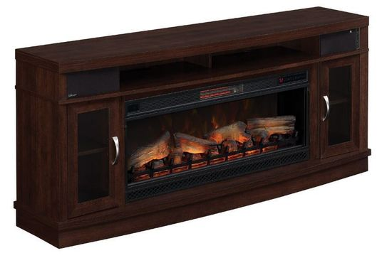 70 inch deerfield tv stand with fireplace insert the 88821
