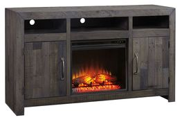 Mayflyn TV Stand with Fireplace Insert