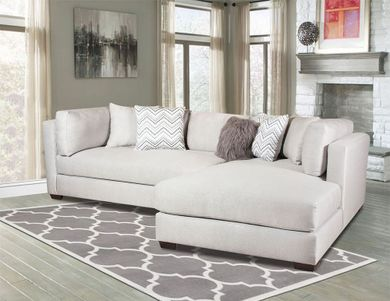 Parker Silver Sectional