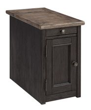 Tyler Creek Gray-Brown Chairside Table