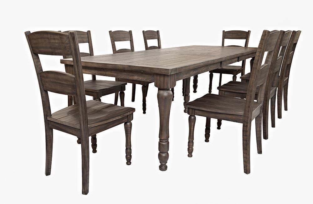 Picture of Madison Barnwood Rectangular Extension Table Only