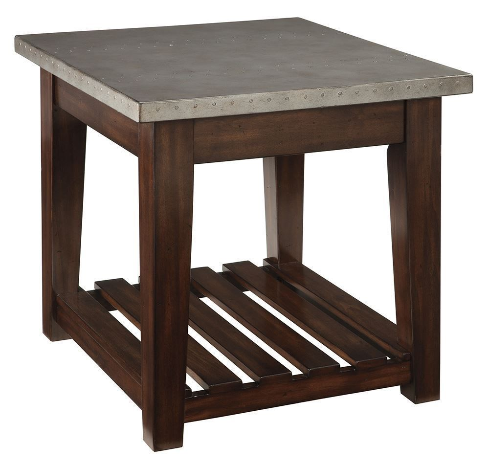 Picture of Bynderman Brown Rectangular End Table