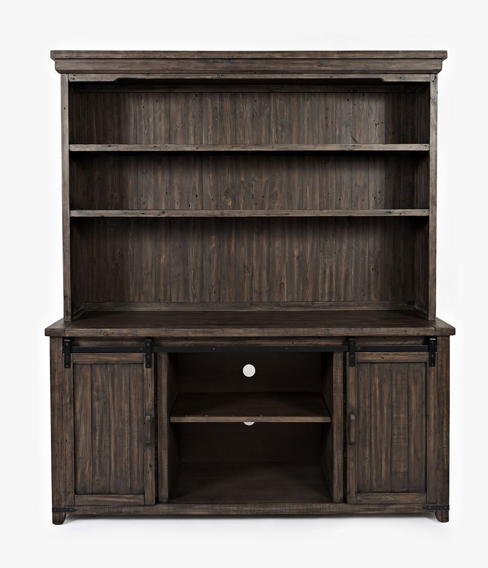 Picture of Madison Barnwood Server and Hutch