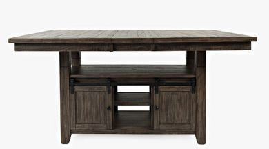 Madison Barnwood  Convertible Extension Table